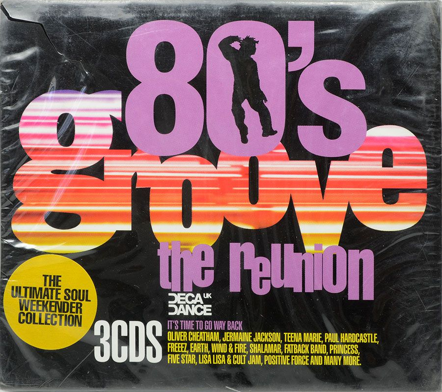 CD Triplo 80's Groove The Reunion - Lacrado - Importado