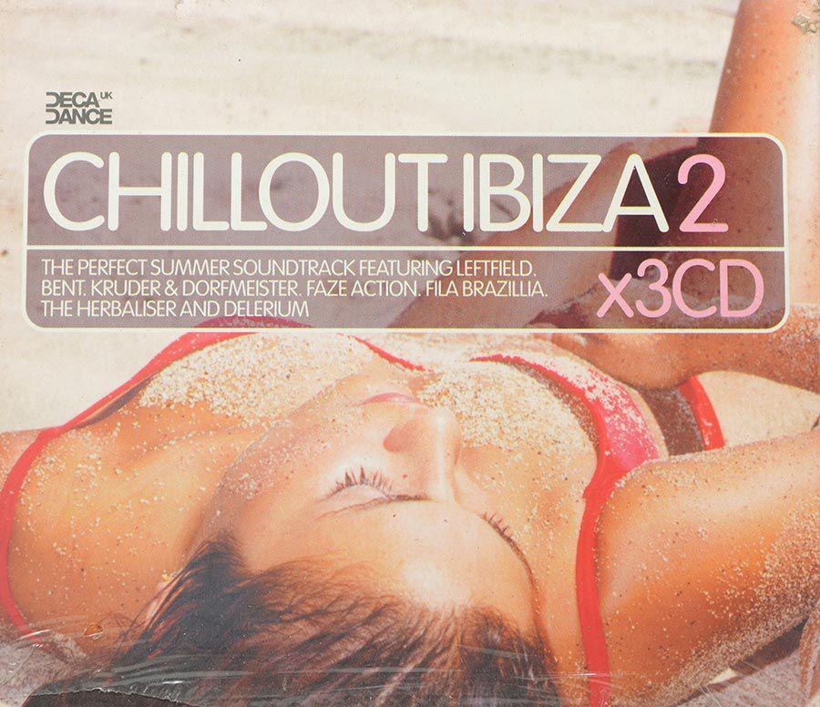 CD Triplo Decadance Chillout Ibiza 2 - Lacrado - Importado