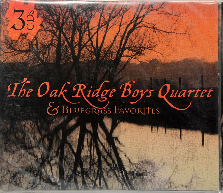 CD Triplo The Oak Ridge Boys Quartet & Bluegrass Favorites - Lacrado - Importado