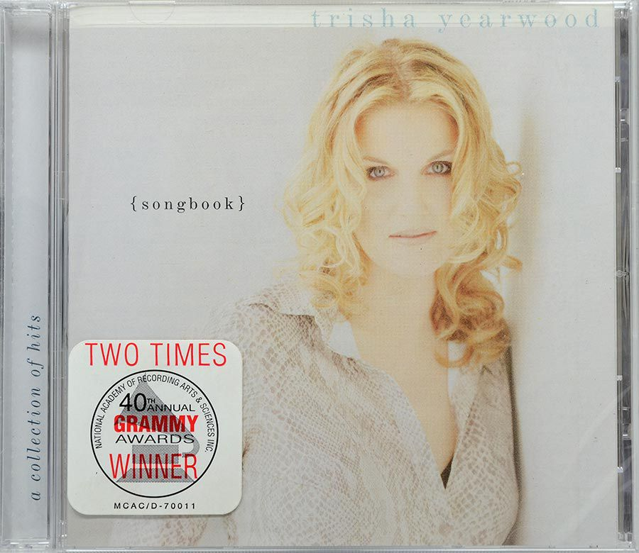 CD Trisha Yearwood - Songbook - Lacrado - Importado