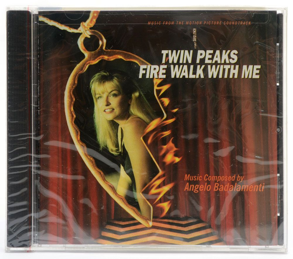 CD Twin Peaks - Fire Walk With Me - Trilha Sonora Soundtrack