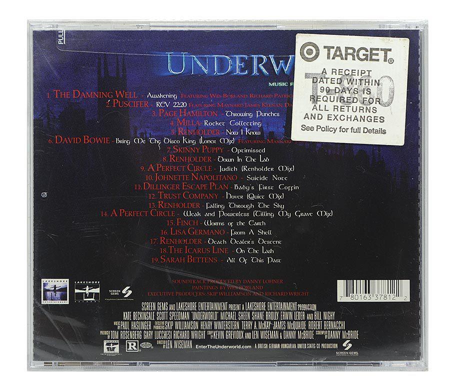 CD Underworld - Original Soundtrack - Importado - Lacrado