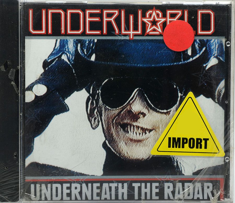 Cd Underworld - Underneath The Radar - Lacrado - Importado
