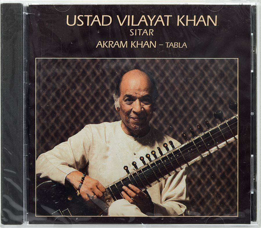 CD Ustad Vilayat Khan - Sitar - Akram Khan - Tabla - Lacrado - Importado
