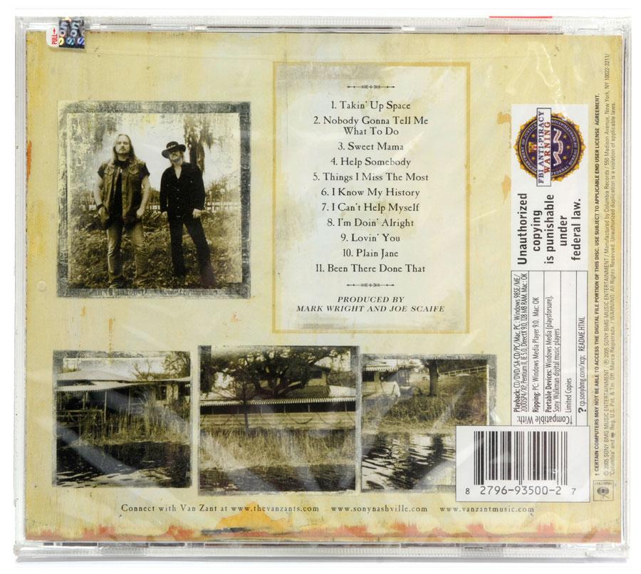 CD Van Zant - Get Right With The Man - Importado - Lacrado