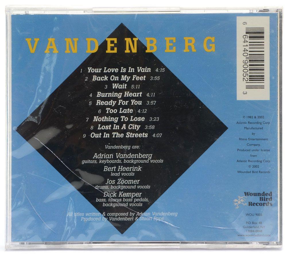 CD Vandenberg - Vandenberg - Importado - Lacrado