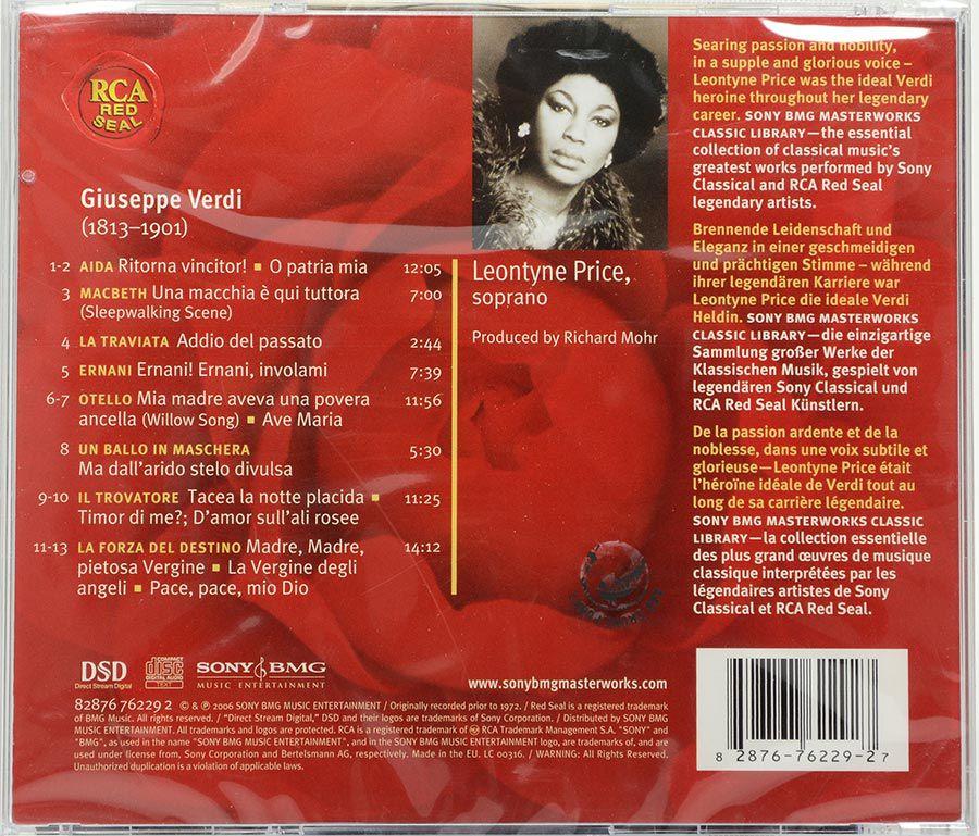 CD Verdi Heroines - Leontyne Price - Lacrado - Importado