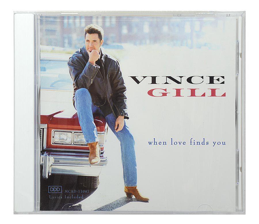 CD Vince Gill - When Love Finds You - Importado - Lacrado