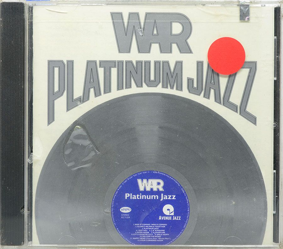 CD War - Platinum Jazz - Lacrado - Importado