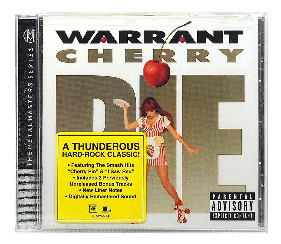 CD Warrant - Cherry Pie - Importado - Lacrado