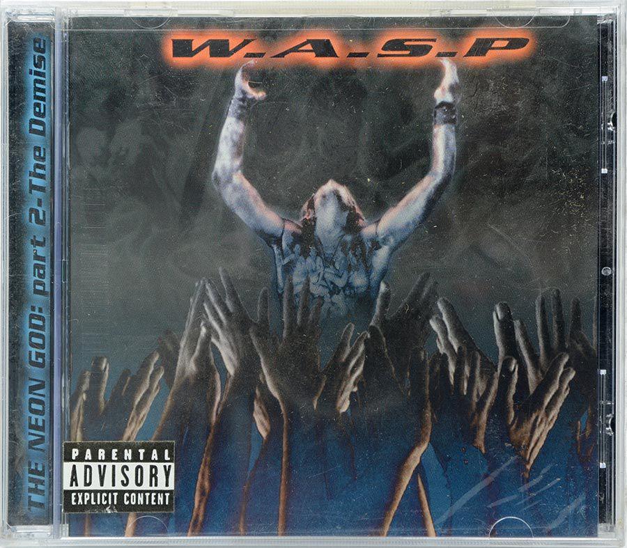CD Wasp - The Neon God: Part 2 - The Demise - Importado USA - Lacrado