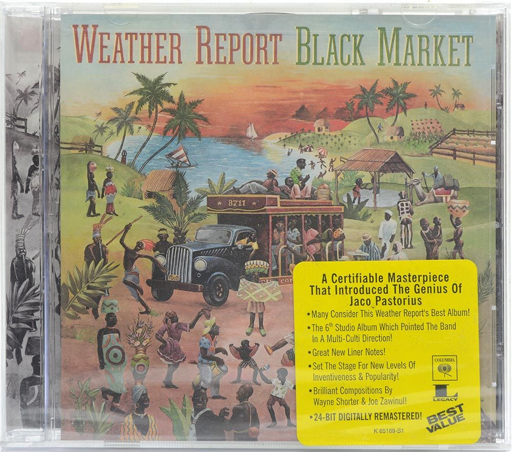 CD Weather Report - Black Market - Importado - Lacrado