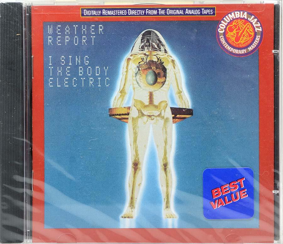 Cd Weather Report - I Sing The Body Electric - Lacrado - Importado