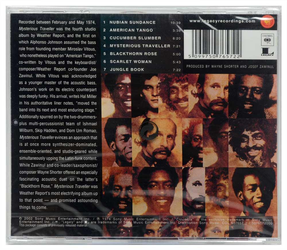 CD Weather Report - Mysterious Traveller - Lacrado - Importado