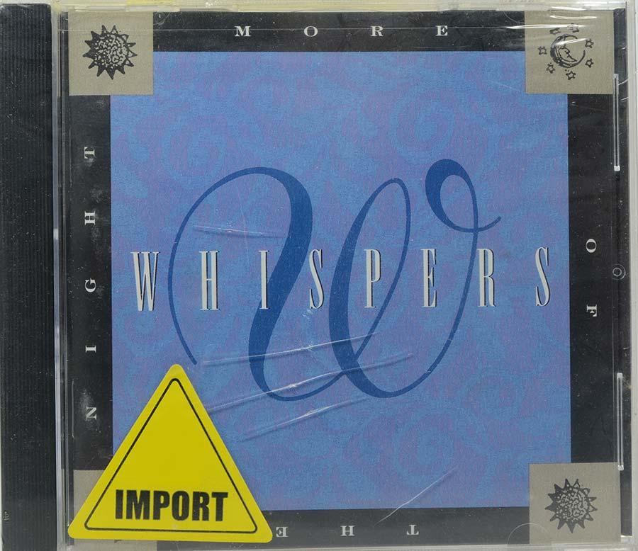 Cd Whispers - More Of The Night - Lacrado - Importado