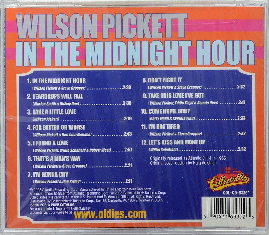 CD Wilson Pickett - In The Midnight Hour - Lacrado - Importado