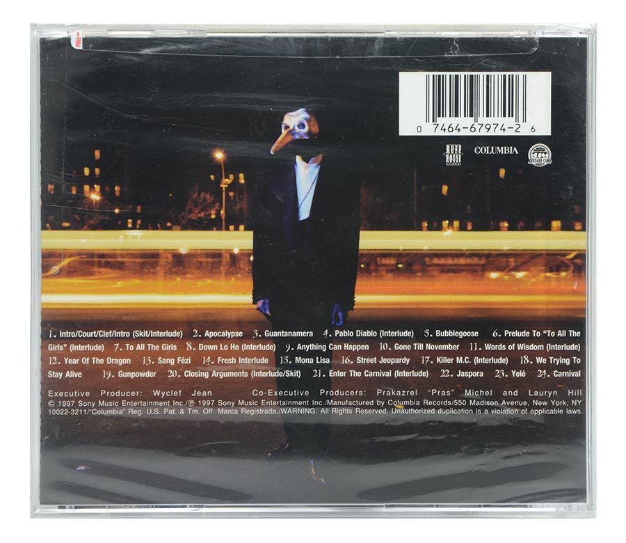 CD Wyclef Jean - The Carnival - Importado - Lacrado
