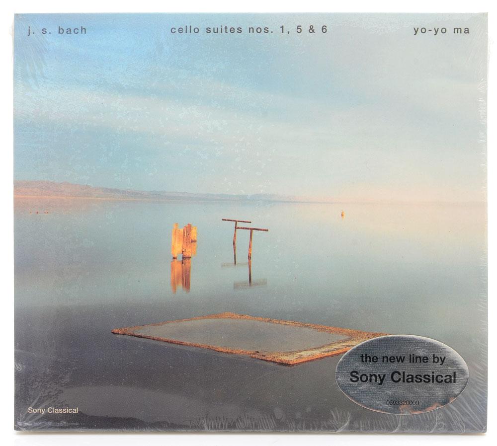 CD Yo-Yo Ma - Bach Cello Suites nos. 1,5,6 - Importado - Lacrado