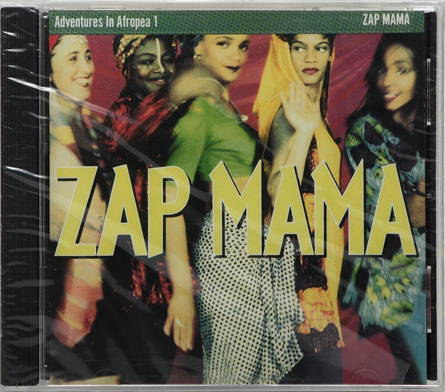Cd Zap Mama - Adventures In Afropea 1 - Lacrado - Importado