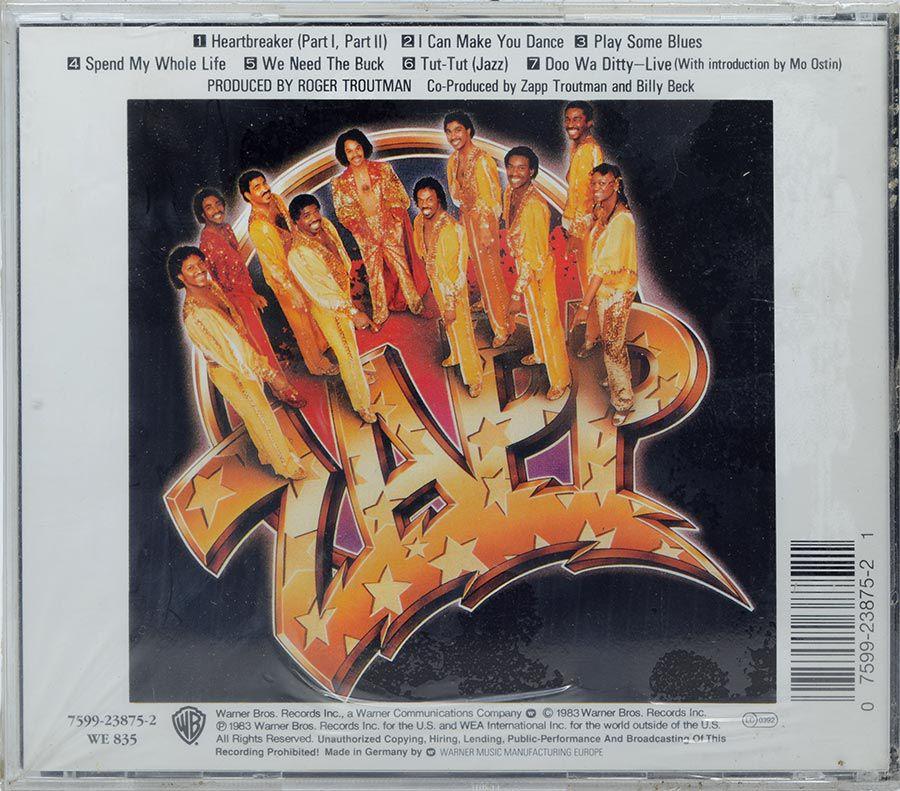 CD Zapp - Zapp III - Lacrado - Importado