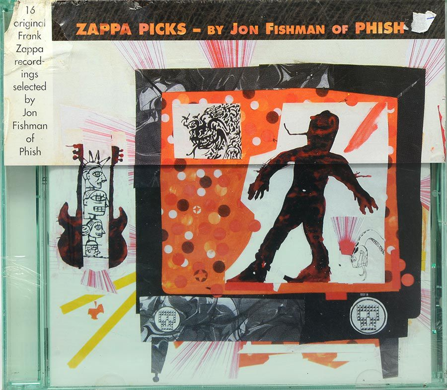 CD Zappa Picks - By Jon Fishman Of Phish - Lacrado - Importado