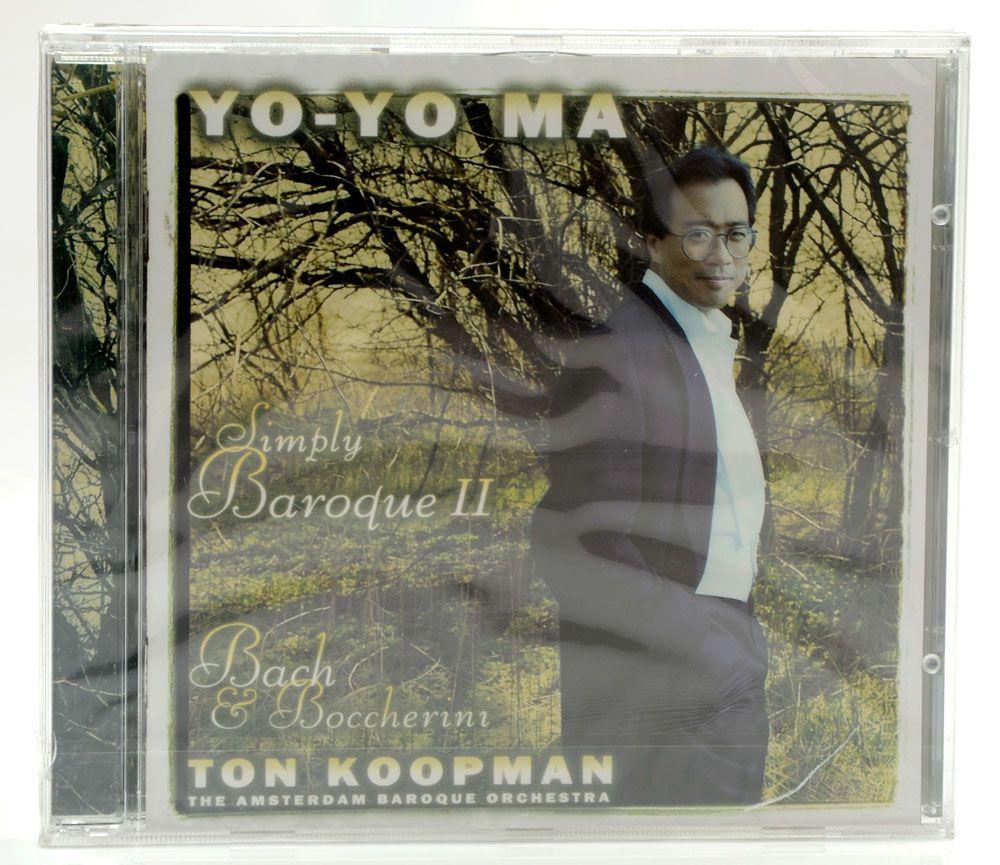 Coleção Cds Yo-Yo Ma - 5 Cds do Artista Y-Yo Ma