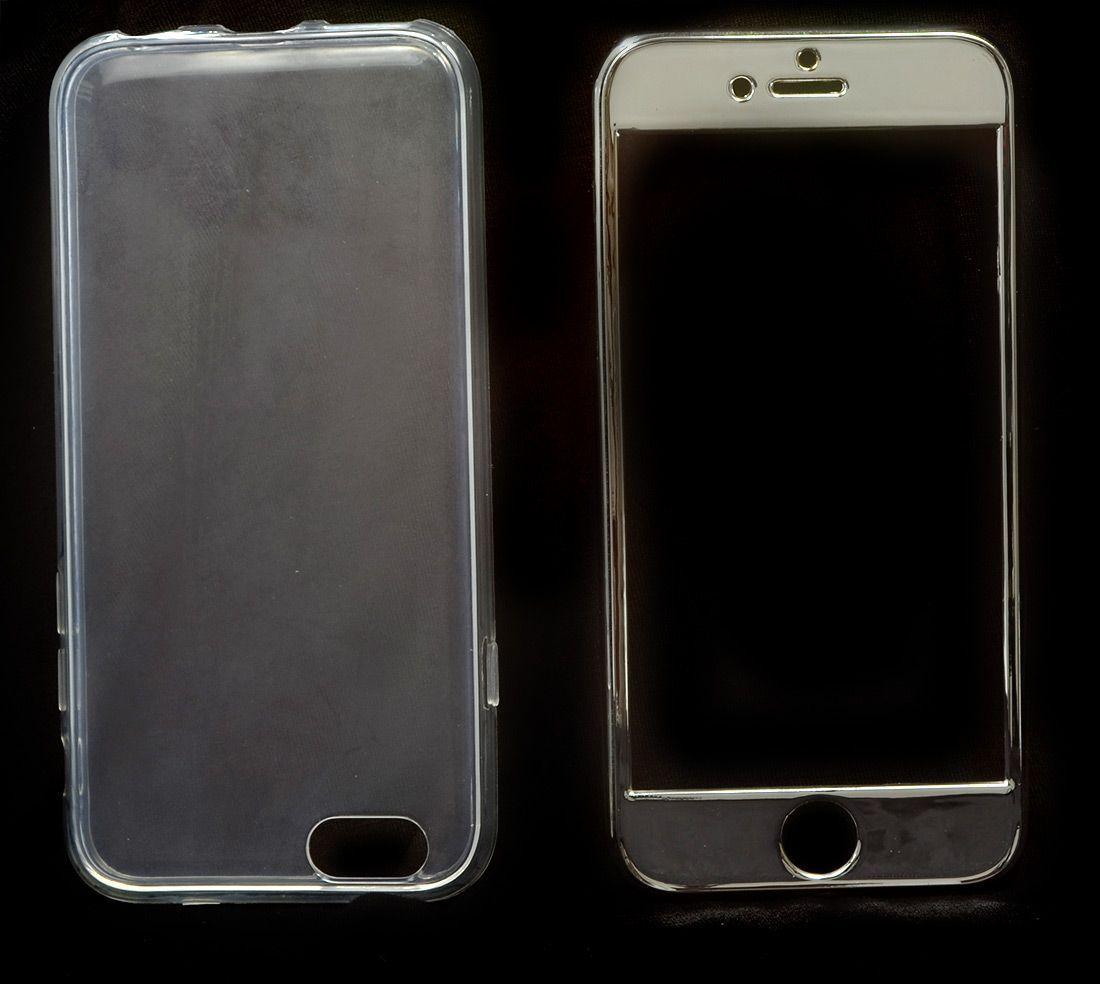 100 Capas Prateada Iphone 6 6S Super Proteção Linda Atacado