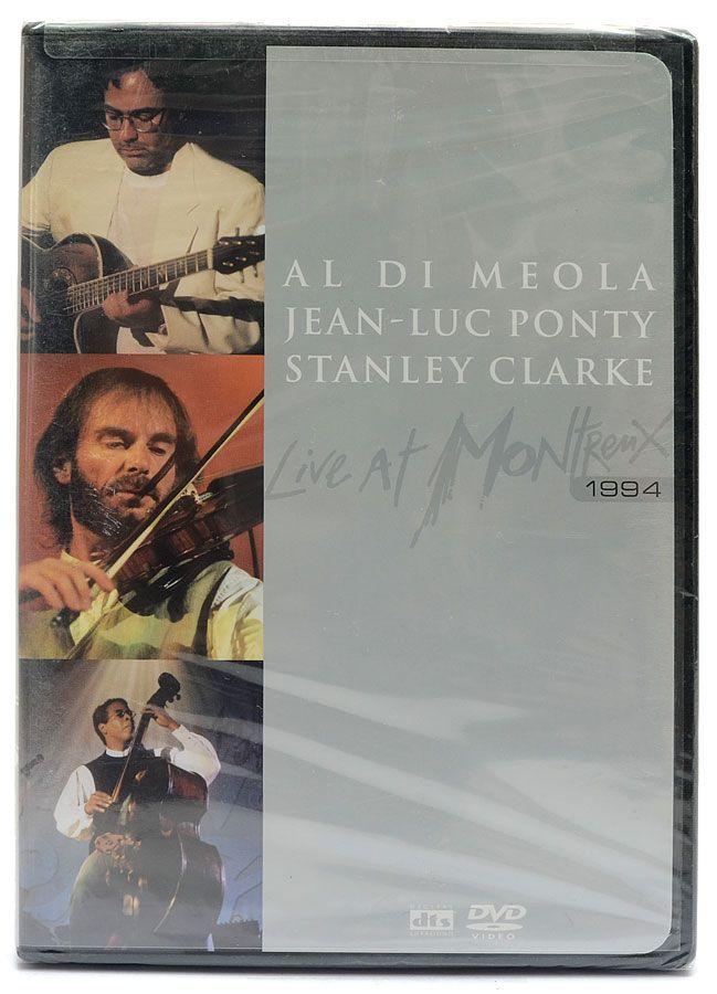 DVD Al Di Meola Jean-Luc Ponty Stanley Clarke - Live At Montreux - Importado - Lacrado