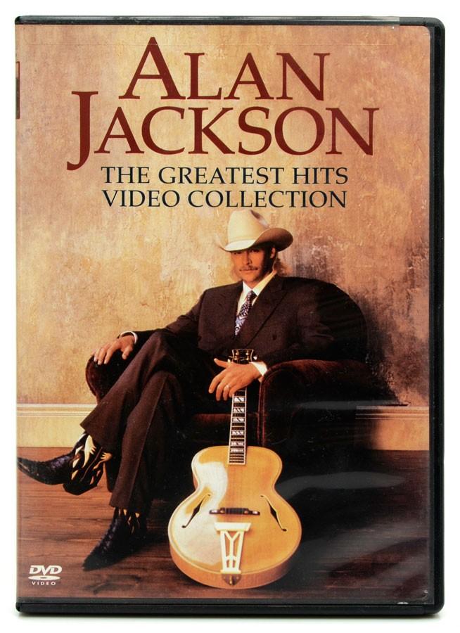 DVD Alan Jackson - The Greatest Hits Video Collection - Lacrado - Importado