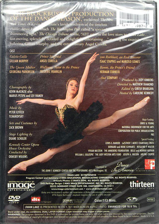 DVD American Ballet Theatre In Swan Lake - Lacrado - Importado