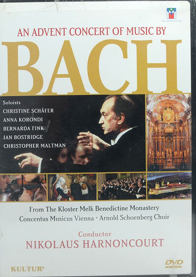 DVD An Advent Concert Of Music By Bach - Lacrado - Importado