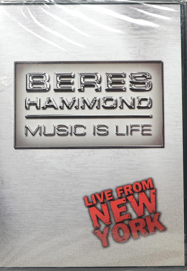 DVD Beres Hammond - Music is Life - Live From New York - Lacrado - Importado