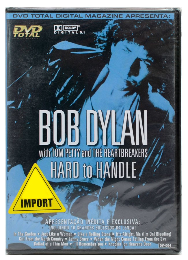 DVD Bob Dylan - Hard to Handle - Lacrado