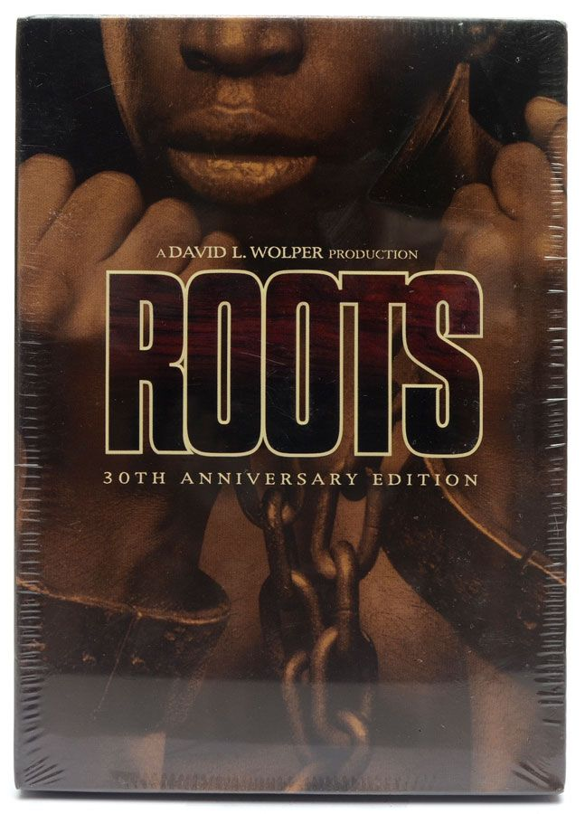 DVD Box Roots - David L. Wolper - 30Th Anniversary Edition - Lacrado - Importado