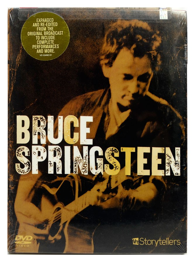 DVD Bruce Springsteen - Storytellers VH1 - Importado - Lacrado