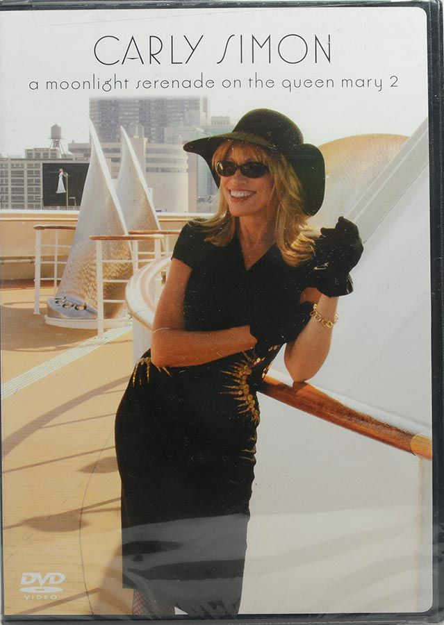 DVD Carly Simon - A Moonlight Serenade On The Queen Mary 2 - Lacrado - Importado
