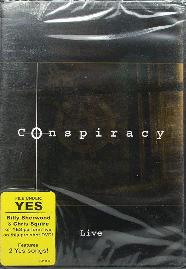 DVD Conspiracy - Live - Lacrado - Importado