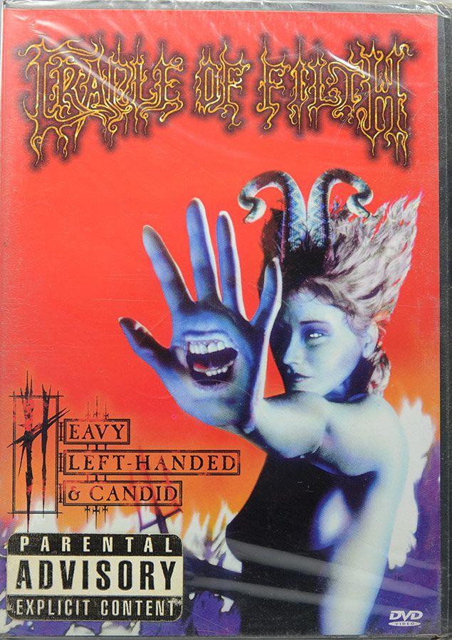 DVD Cradle Of Filth - Heavy Left-Handed & Candid - Importado UK