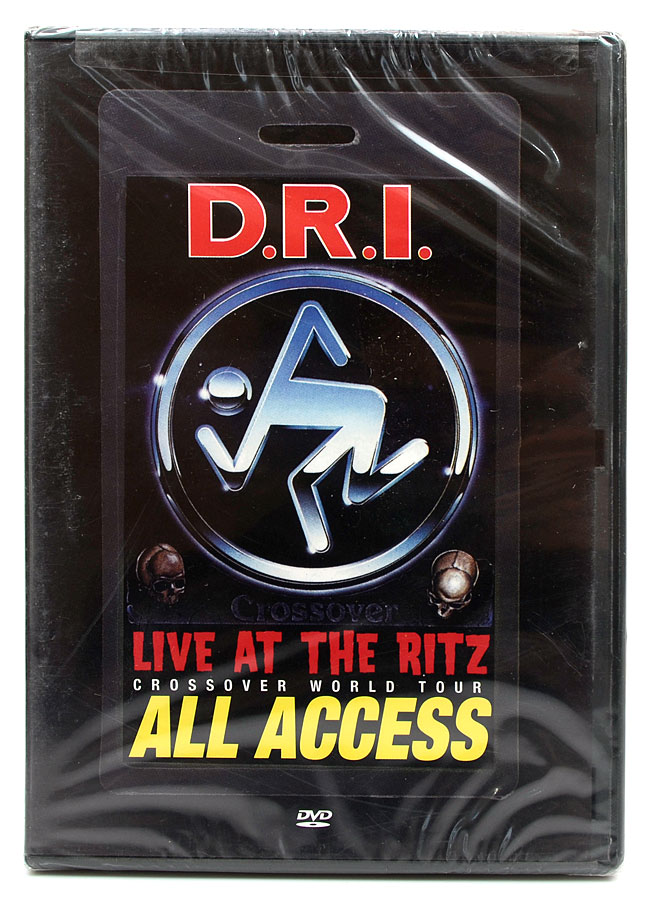DVD D.R.I - Live At The Ritz - Crossover World Tour All Access - Importado - Lacrado