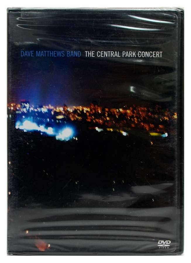 DVD Dave Matthes Band - The Central Park Concert - Importado - Lacrado