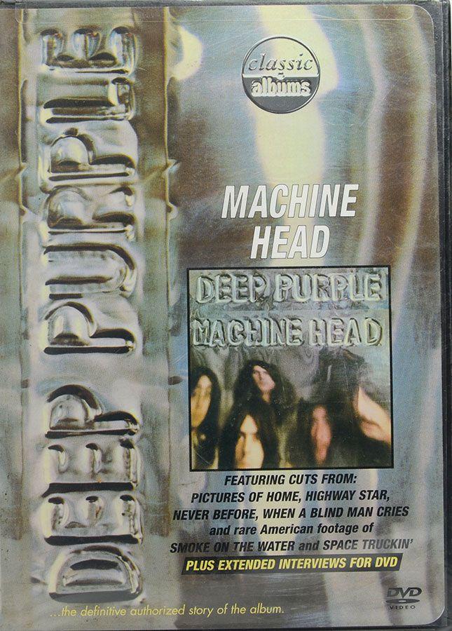 DVD Deep Purple - Machine Head - Lacrado - Importado