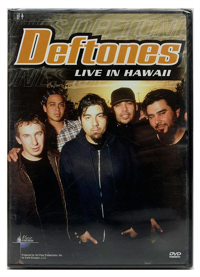 DVD Deftones - Live In Hawaii - Importado - Lacrado