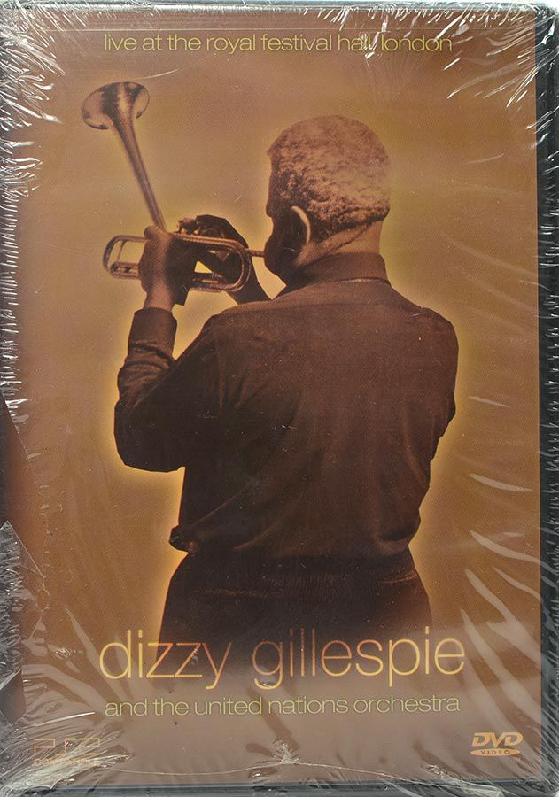 DVD Dizzy Gillespie And The United Nations Orchestra - Lacrado - Importado
