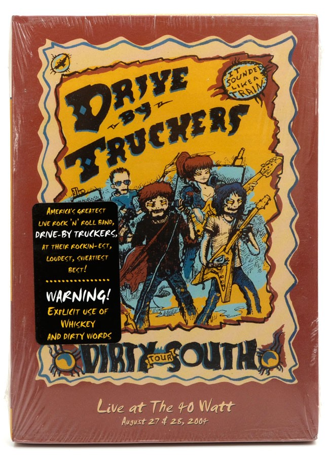 DVD Drive By Truckers - The Dirty South - Lacrado - Importado
