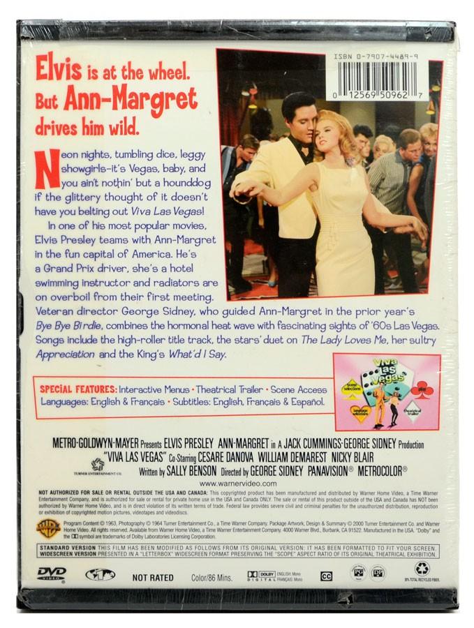 DVD Elvis Presley Ann-Margret - Viva Las Vegas - Lacrado - Importado