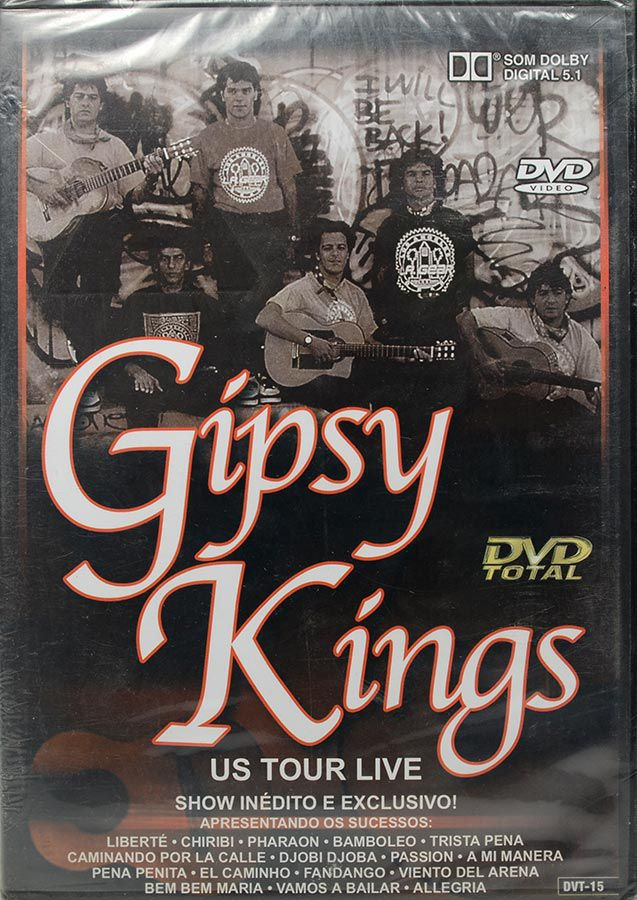 DVD Gipsy Kings - Us Tour Live - Região 1 - Lacrado