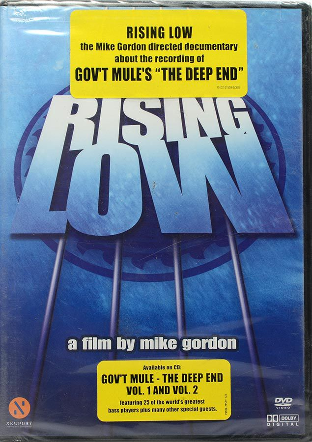 DVD Gov't Mule Rising Low - A Film By Mike Gordon - Lacrado - Importado