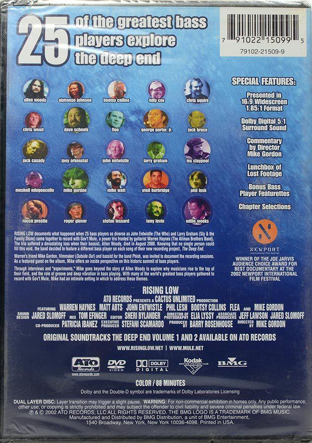 DVD Gov't Mule Rising Low - A Film By Mike Gordon - Lacrado - Importado
