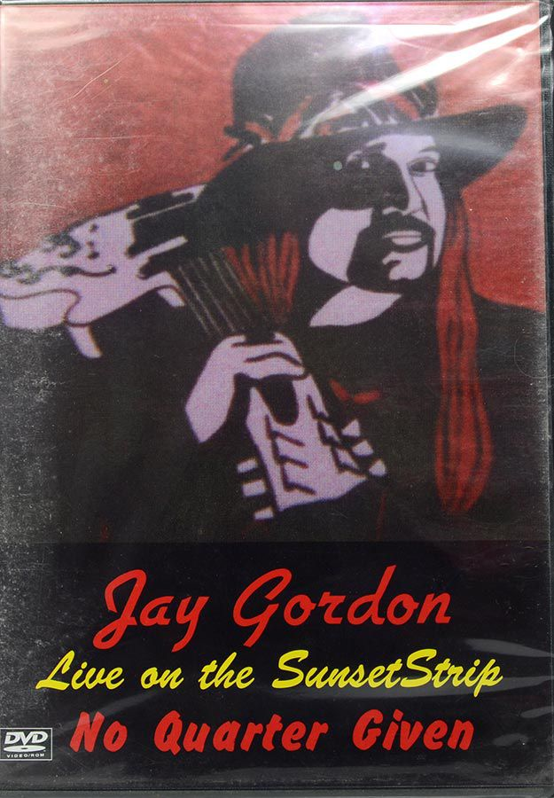 DVD Jay Gordon - Live On The Sunsettrip No Quarter Given - Lacrado - Importado