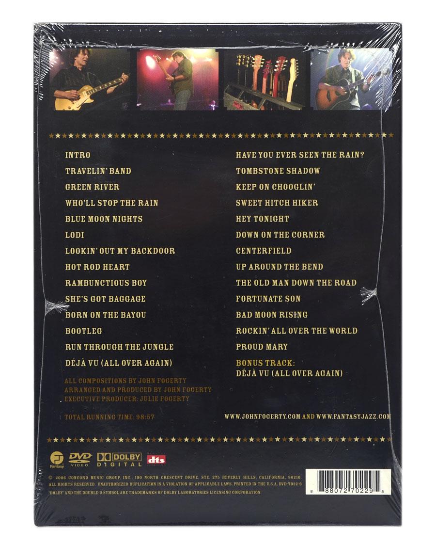 DVD John Fogerty - The Long Road Home In Concert (Importado - EUA) - Lacrado